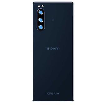 Batterideksel til Sony Xperia 5 J8210 blå 1319-9380 batterideksel tilbake