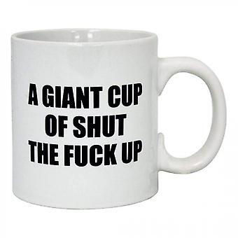 Giant Cup of STFU 22-Ounce Mug