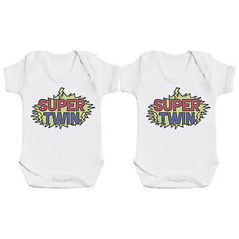 Super Twin - Twin Set - Baby Bodysuits