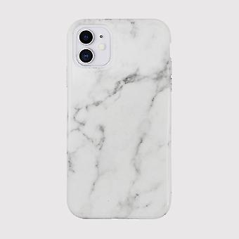 Eco Friendly iPhone 11 Case Printed White Marble Back Shell