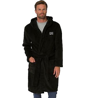 Animal Andrew Dressing Gown in Black