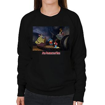 An American Tail Fievel And Family Women's Sweatshirt
