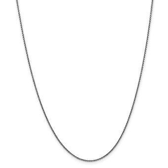 10k Wg 1.5mm solid kiillotettu kaapeli ketjun nilkan rannekoru korut lahjat naisille - pituus: 9-10