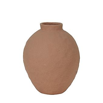 Light & Living Vase Deco 21x26cm Chomes Dark Orange