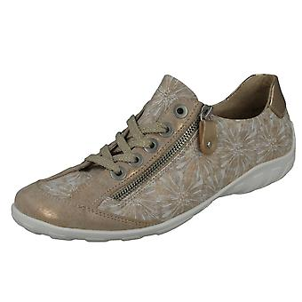 Ladies Remonte Casual Lace Up Shoes R3435