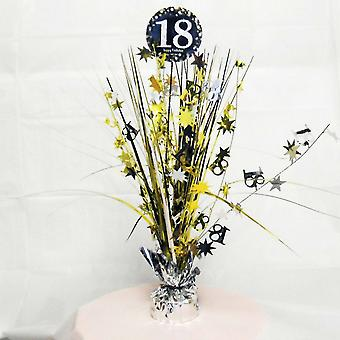 Amscan Sparkling Celebration 18th Birthday Centrepiece Spray