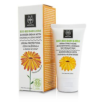 Eco bio baby & kids barrier cream with calendula & zinc oxide 206434 75ml/2.82oz