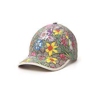 Gucci 6039864hi898477 Mujeres's Sombrero de Algodón Multicolor