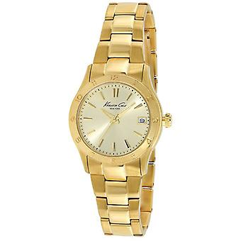 Kenneth cole virginia Watch for Women Analog Quartz with Stainless Steel Bracelet In Gold Plated IKC4934