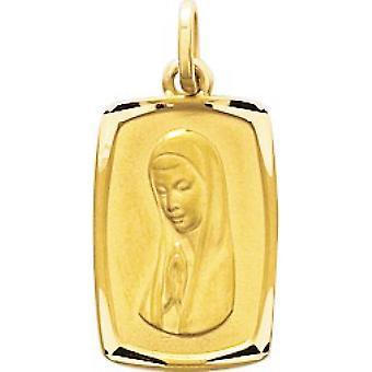 Pingente de ouro em branco 375/1000 amarelo (9K)
