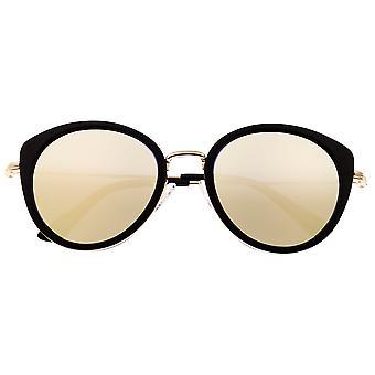 Bertha Reese Polarisierte Sonnenbrille - Schwarz/Gold-Grün