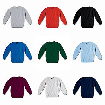 SG Mens Raglan Sleeve Crew Neck Sweatshirt
