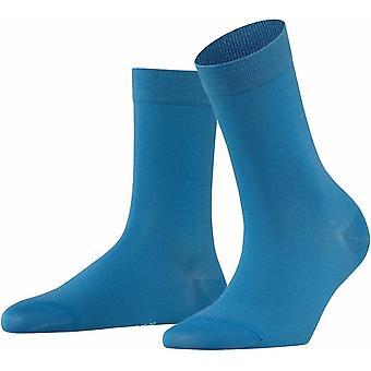 Falke Cotton Touch Socks - Frost Blue