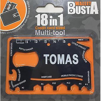Multitool Multitool TOMAS creditcarddebetkaart