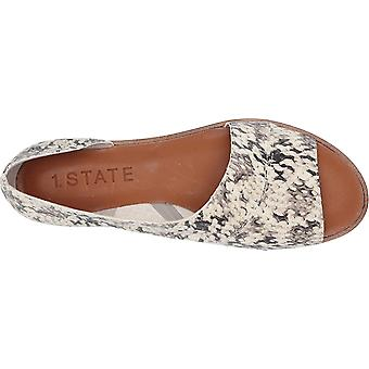 1.STATE Womens Celvin Open Toe Casual Slide Sandals