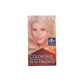 Revlon colorsilk Tinte #80-Rubio claro Cenizo feminina