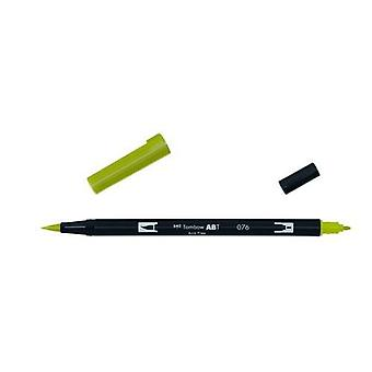 Tombow ABT Dual Brush Pen vert ocre ABT-076