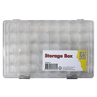Nellie's Choice storage box 40 compartiments o.a. daubers STOR-21