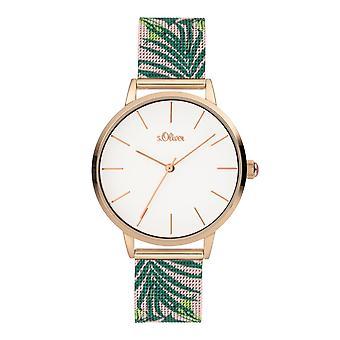 s.Oliver Ladies Watch Wristwatch Stainless Steel SO-3980-MQ