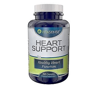 VitaSense Heart Support - Healthy Heart Function - 60 Capsules