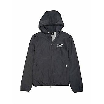 EA7 Junior EA7 Junior Black Hooded Jacket