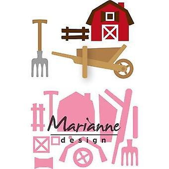 Marianne Design Collectables Cutting Dies - Eline's Farm Set COL1427