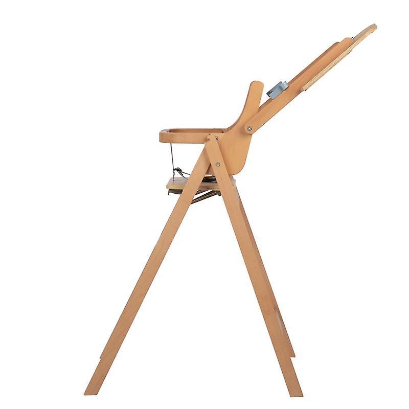 Sécurité 1er Nordik Folding Wooden Highchair Natural