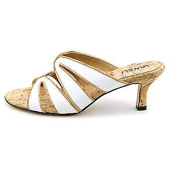 Vaneli Womens Matilda Open Toe Casual Slide Sandals