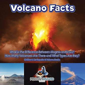 Volcano Facts  What Is the Difference Between Magma and Lava How Many Volcanoes Are There and What Types Are They  Childrens Earthquake  Volcano Books by Prodigy Wizard