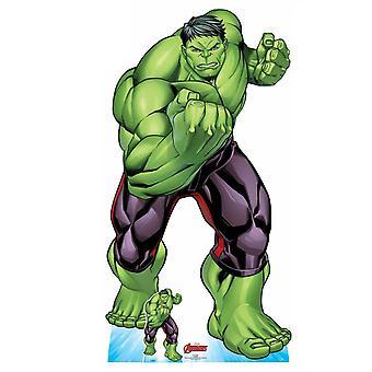 The Hulk Official Lifesize Marvel Avengers Cardboard Cutout
