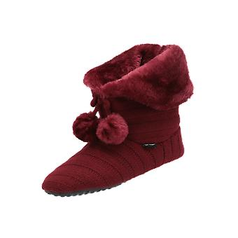flip*flop Cottage Mate Women's Boots Red Lace-Up Boots Winter