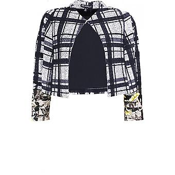 Picadilly Black & White Check Jacket