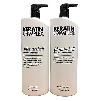 Keratin Complex Blondeshell Shampoo & Conditioner 33.8 OZ Set