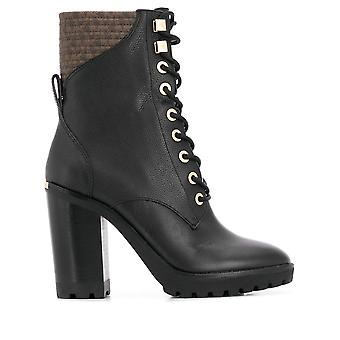 Michael kors tailored bastian booties womens black, brown
