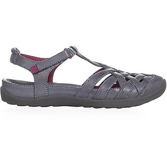 Bare Traps Womens Florrie Leather Closed Toe Casual Sport Sandals