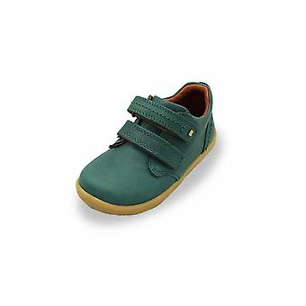 Bobux kid+ port forest green shoes