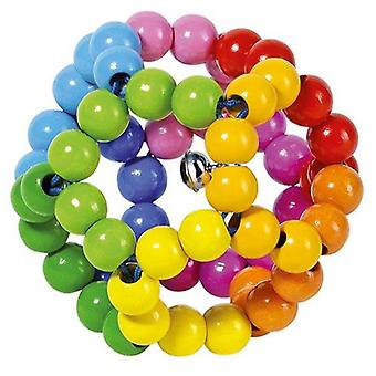 Heimess Touch Ring Rattle Elastic Rainbow Ball