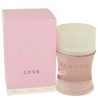Verona Love Eau De Parfum Spray By Yves De Sistelle 3.4 oz Eau De Parfum Spray
