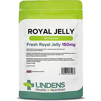 Lindens Royal Jelly 150mg Capsules 100 (1967)