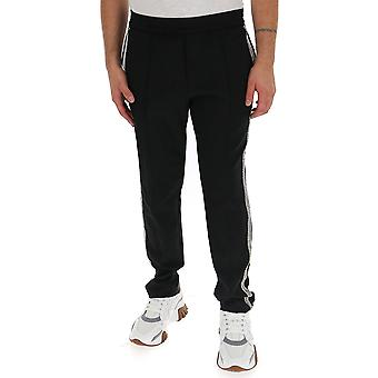 Amen Mew19301009 Mænd's Sorte Polyester Joggers