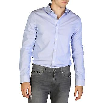 Man cotton long shirt t-shirt top ae22871