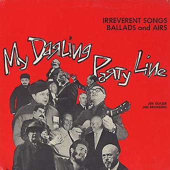 Joe Glazer - My Darling Party Line: Irreverent Songs Ballads & [CD] USA import