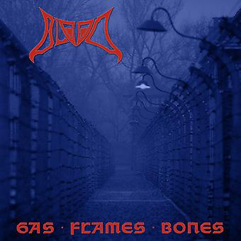 Blood - Gas Flames Bones [CD] USA import