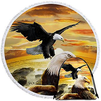 Stunning American Eagle  Beach Towel