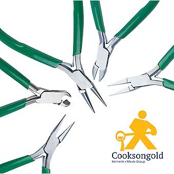 Cooksongold Jewellery Making Beading Plines, Flat Nose, Chain Nose et plus