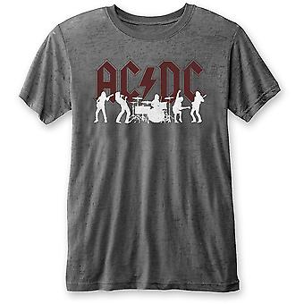 Ac/Dc Silhouettes T-Shirt Ufficiale Tee Uomo