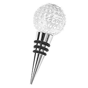 Handgefertigte Crystal Golf Ball Flasche Stopper