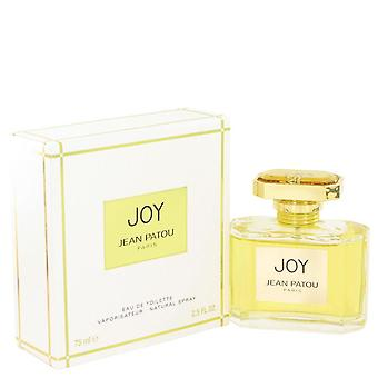 Joy Eau De Toilette Spray By Jean Patou 2.5 oz Eau De Toilette Spray