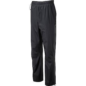 OEX Men's Arimo Waterproof Overtrousers Black/Grey