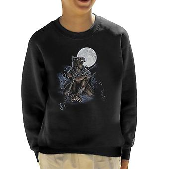 Alchemy Chained Werewolf Kid's Sweatshirt